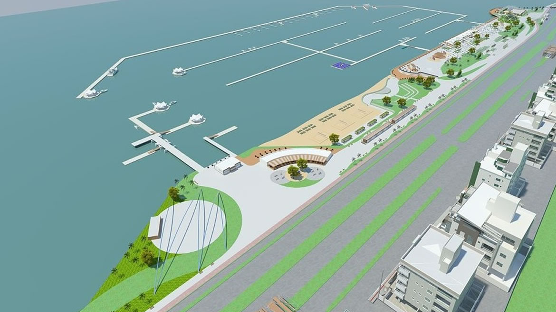 Florianópolis vai ganhar parque urbano e marina na região central da cidade